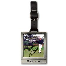 Logo Golf Color Magic Rectangular Custom Bag Tag