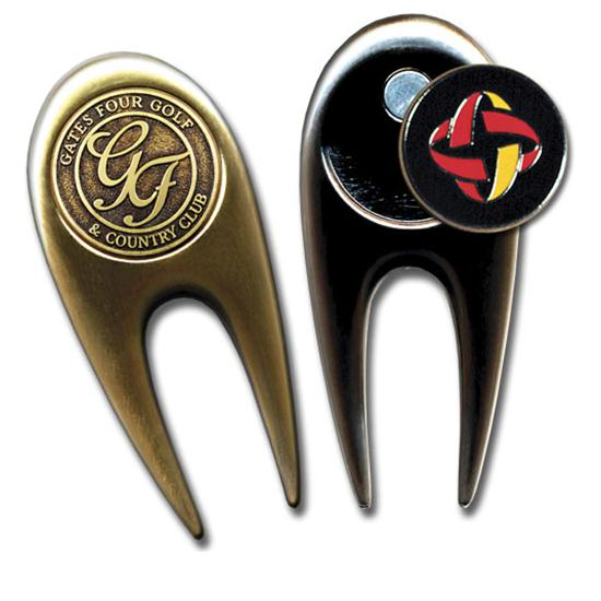 Logo Golf Contemporary Custom Divot Tool