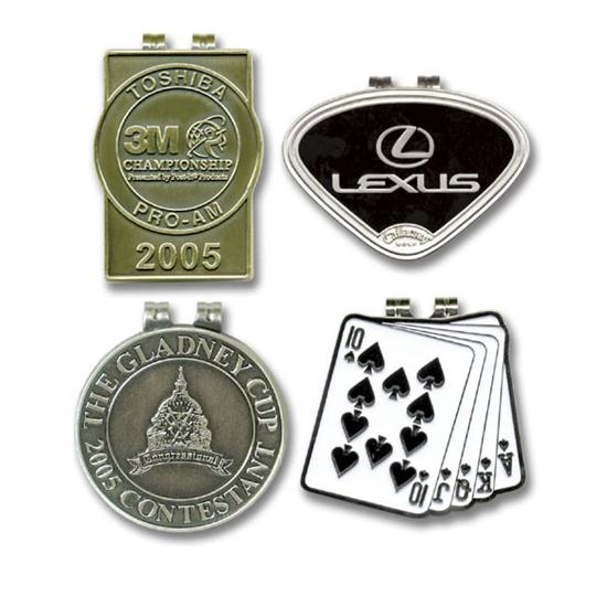 Logo Golf Die Cast Money Clip