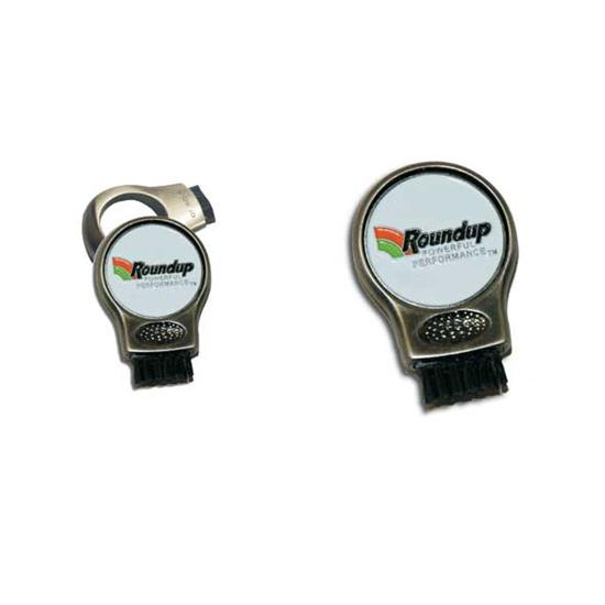 Logo Golf G-Brush with Ball Marker