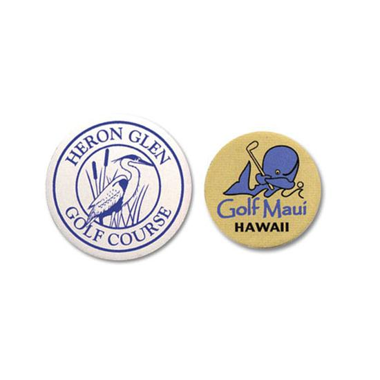 Logo Golf Plastic Ball Marker