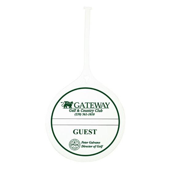 Logo Golf Resort Custom Bag Tag