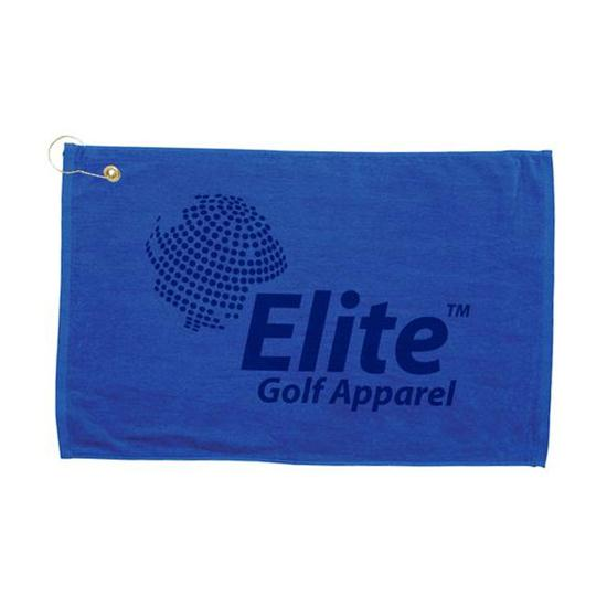Logo Golf Screen Printed Midweight Golf Towels