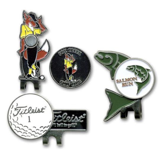 Logo Golf Shape Clip