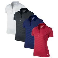 Nike Custom Logo Tech Stripe Polo for Women