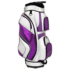 Tour Edge Luxury Collection Golf Bags for Women - Silver-Orchid