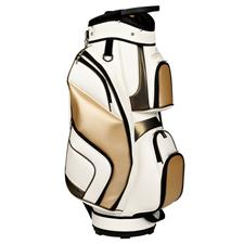 Tour Edge Luxury Collection Golf Bags for Women - White-Bronze