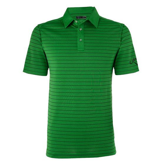 Callaway Golf Men's Opti-Dri Striped Polo