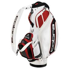 Cobra Bio Staff Bag - White-Barbados Red