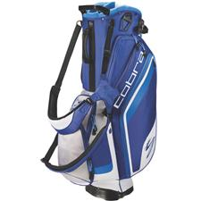 Cobra Bio Stand Bag - Monaco Blue-White