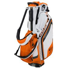 Cobra Bio Stand Bag - White-Vibrant Orange