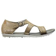 FootJoy Naples Spikeless Alligator Print Sandal for Women