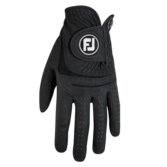 FootJoy WeatherSof Black Golf Glove