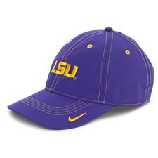Nike Men's Contrast Stitch LSU Hat - Manufacturer Closeouts
