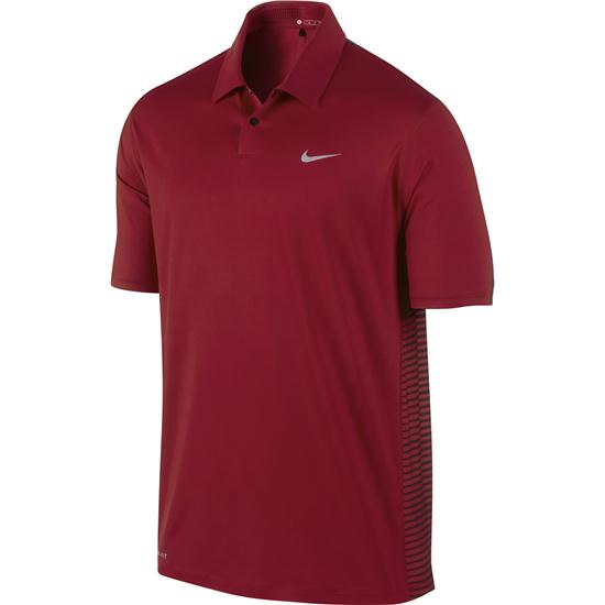 Nike Men's TW Engineered Stripe Polo Manf. Closeouts