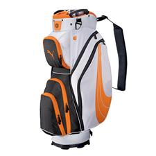 Puma Formstripe Cart Golf Bags - Orange-White