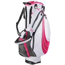 Puma Formstripe Stand Golf Bag for Women - White-Cabaret