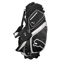 Puma Monoline Stand Golf Bag - Black-White