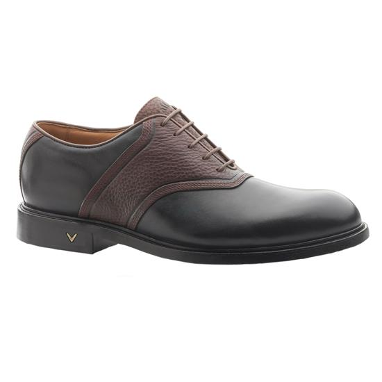 Callaway Golf Men's Spikeless Pin Stripe Saddle Golf Shoe