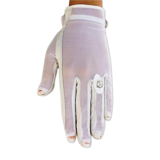 Lady Classic Solar Tan Nail & Ring Glove for Women