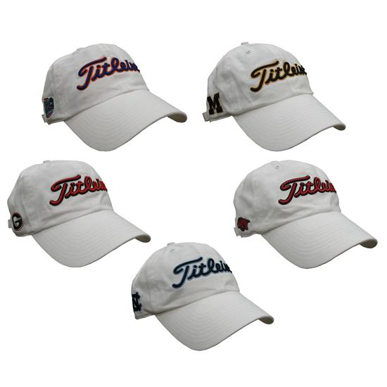 Titleist Men's Limited Edition Collegiate Caps