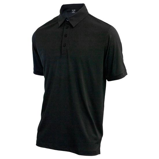 Adidas Men's Puremotion Microstripe Custom Logo Polo