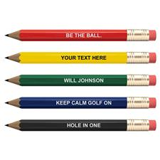 Classic Personalized Personalized Golf Pencils