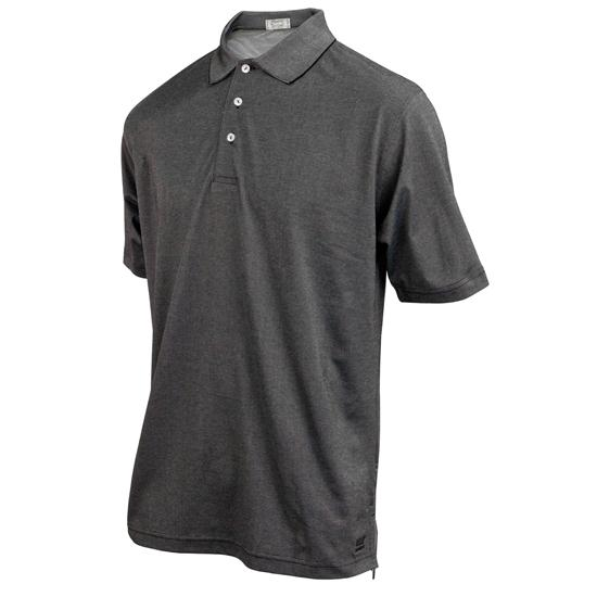 TABASCO Brand Men's 2-Tone Oxford Pique Polo