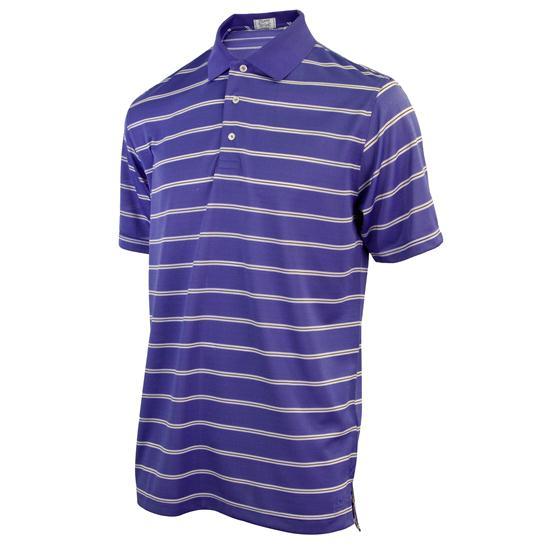 TABASCO Brand Men's Spaced Pencil Stripe Polo