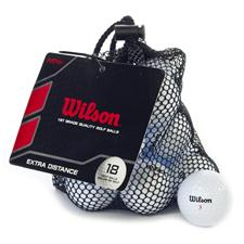 Wilson Extra Distance Golf Balls 18-Pack