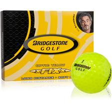 Bridgestone xFIXx Yellow Golf Balls