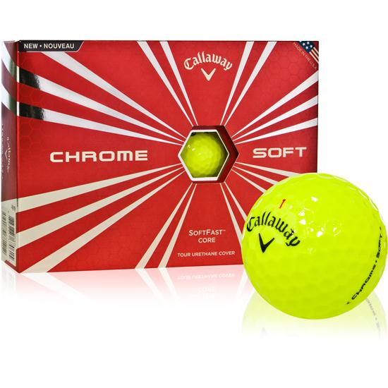 Callaway Golf Prior Generation Chrome Soft Yellow Golf Balls