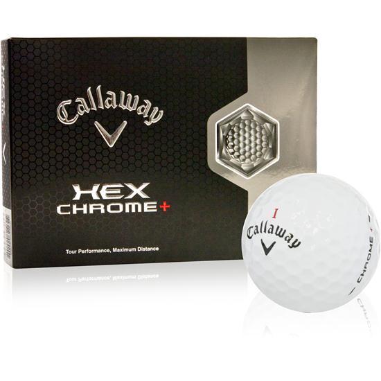 Callaway Golf Hex Chrome+ Logo Overrun Golf Balls