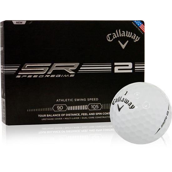 Callaway Golf Speed Regime 2 Logo Overrun Golf Balls