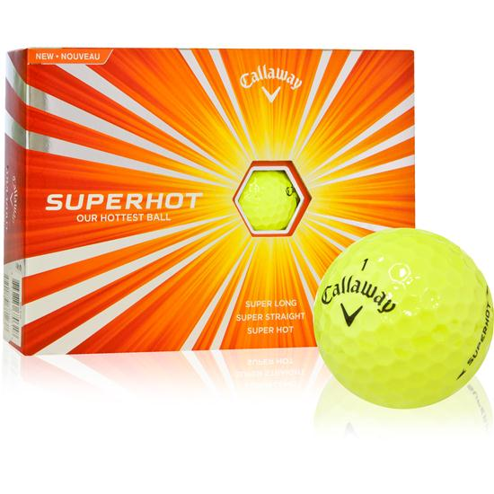 Callaway Golf Super Hot Yellow Golf Balls
