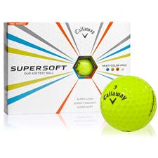 Callaway Golf Prior Generation Supersoft Lime Personalized Golf Balls