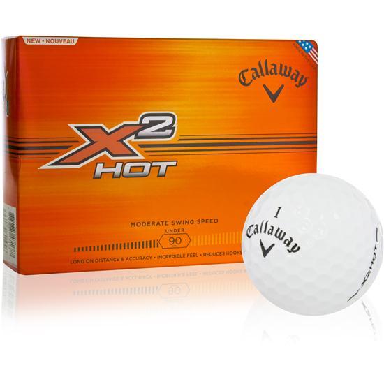 Callaway Golf X2 Hot Logo Overrun Golf Balls