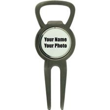 Classic Personalized Bottle Opener Divot Tool with Ball Marker