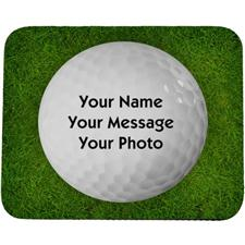 Classic Personalized Photo Golf Mouse Pad
