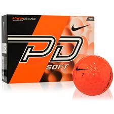 Nike Power Distance Soft Orange Golf Balls