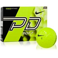 Nike Power Distance Soft Yellow Golf Balls