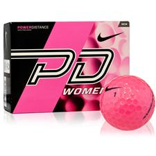 Nike Power Distance Women Pink Personalized Golf Balls