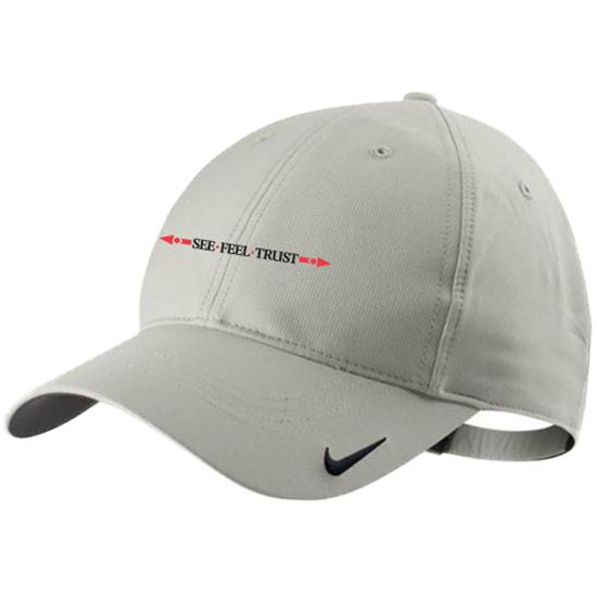 Nike Men's Tech Linear See Feel Trust Logo Hat