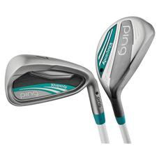 PING Rhapsody Graphite Hybrid Iron Set for Women