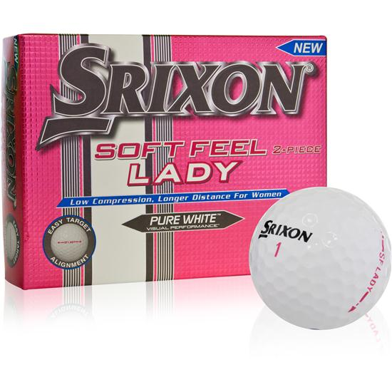 Srixon Soft Feel Lady White Golf Balls