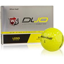 Wilson Staff Prior Model Duo Yellow Prior Generation Golf Balls