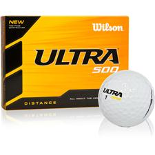 Wilson Ultra 500 Distance Logo Golf Balls
