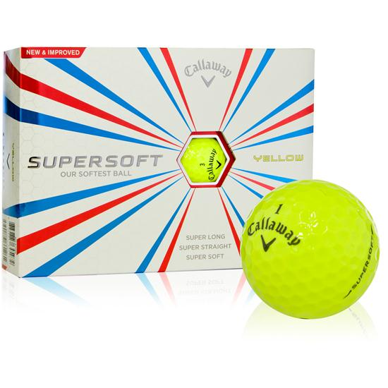 Callaway Golf Supersoft Yellow Golf Balls