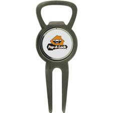 Classic Custom Logo Bottle Opener Divot Tool with Ball Marker