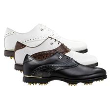 FootJoy Extra Wide Icon Black Croc Golf Shoes